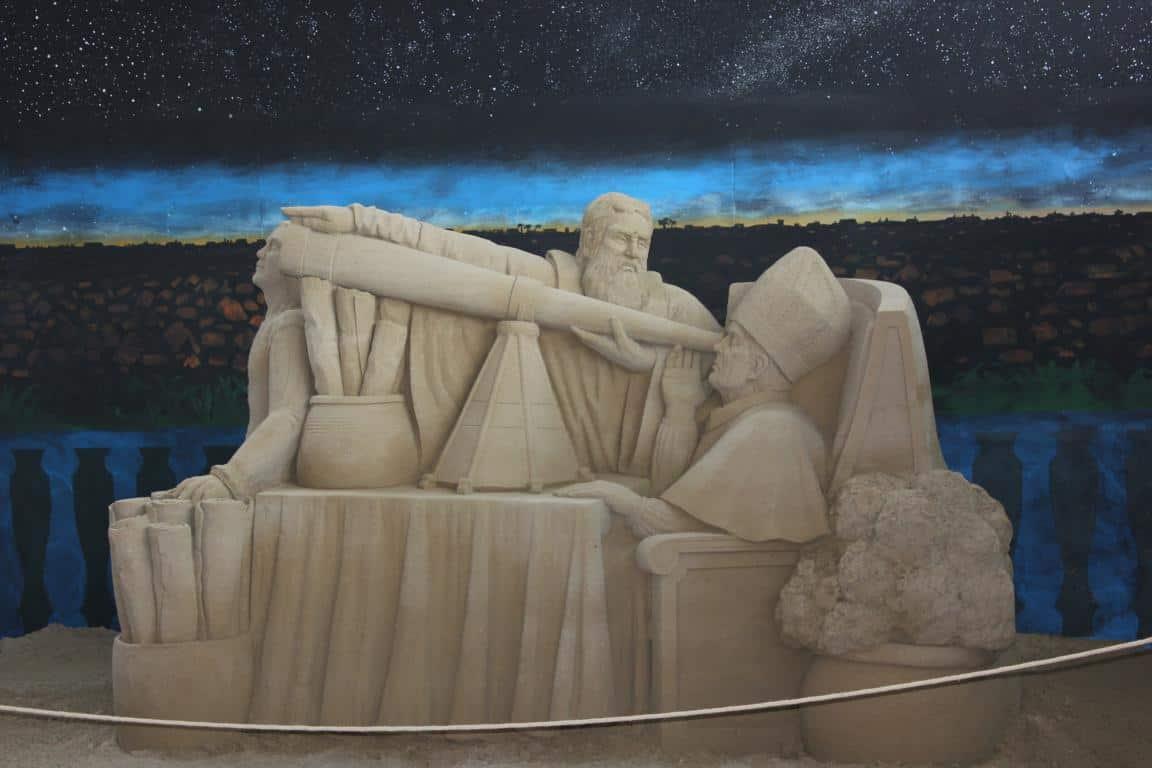 Sandskulpturen Jesolo 2015
